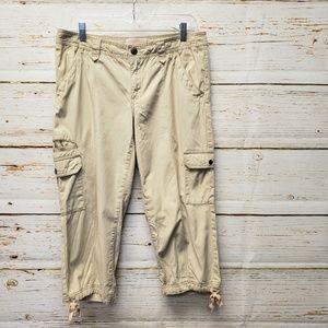 Eddie Bauer Rip Stop Capri Pants